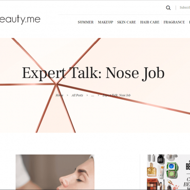Expert Talk: Nose Job
