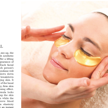 24K Gold Facial – A&E Magazine