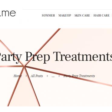 Party Prep Treatments