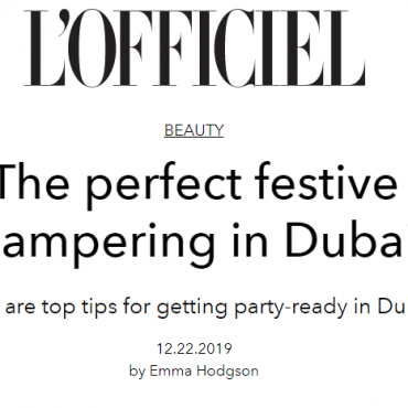 The Perfect Festive Pampering In Dubai