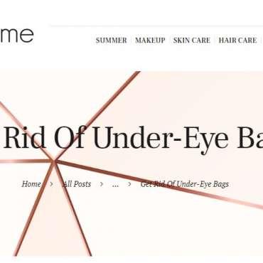 Get Rid Of Under-Eye Bags